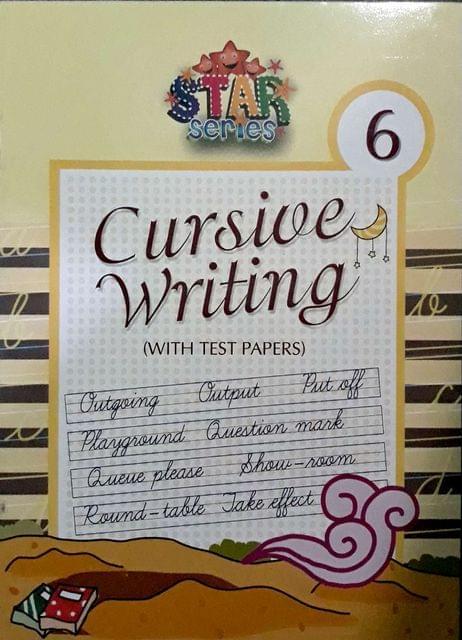 Cursive Writing Book-6