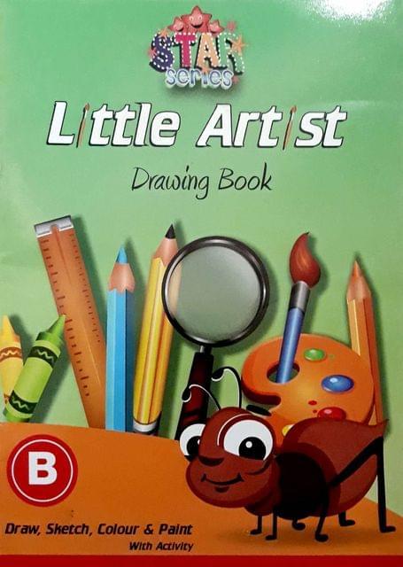 Little Artist Drawings Book-B