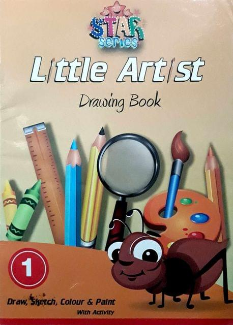 Little Artist Drawings Book-1
