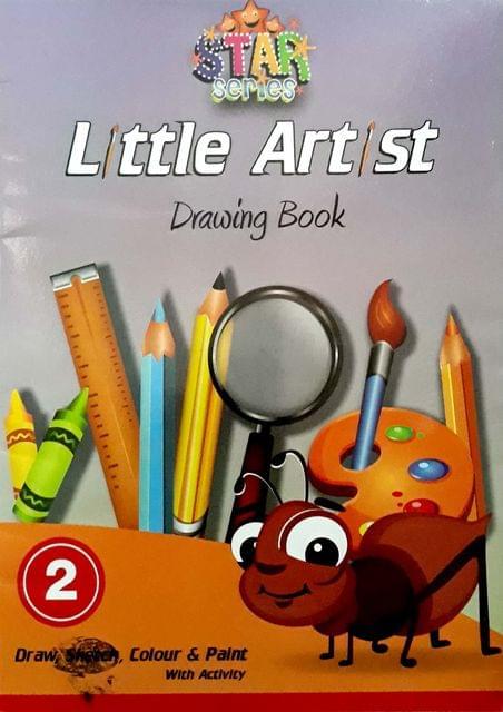Little Artist Drawings Book-2