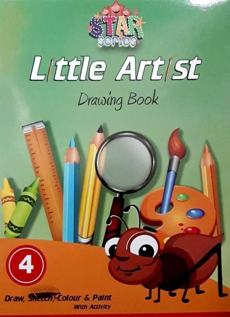 Little Artist Drawings Book-4
