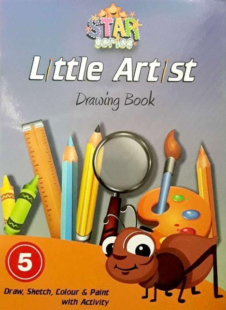 Little Artist Drawings Book-5