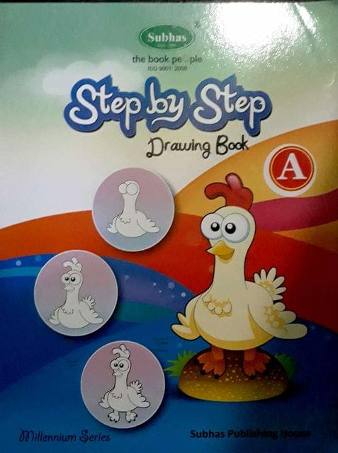Step By Step Drawing Book-A