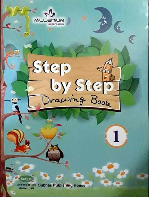 Step By Step Drawing Book-1