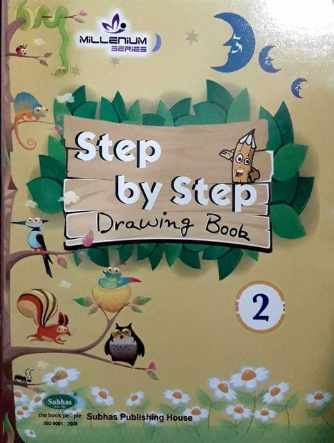 Step By Step Drawing Book-2