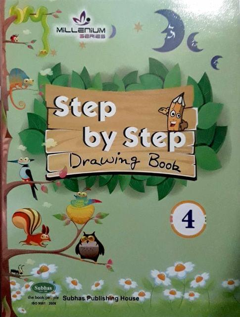 Step By Step Drawing Book-4