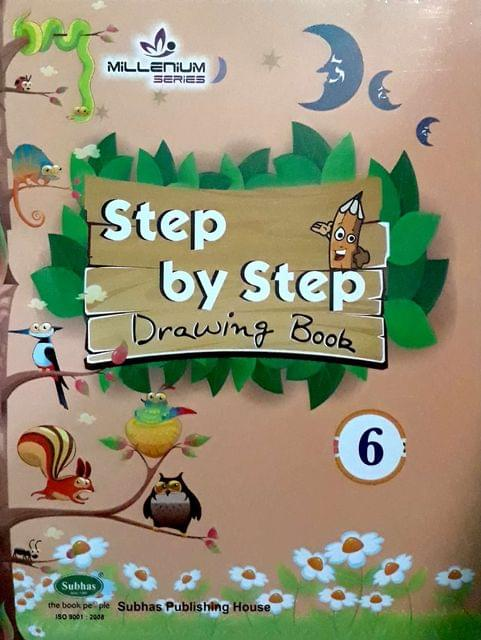 Step By Step Drawing Book-6
