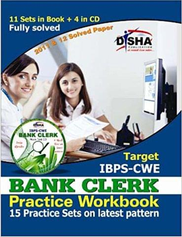 Target IBPS - CWE Bank Clerk Practice Workbook (With CD) : 15 Practice Sets on Latest Pattern 3rd Edition