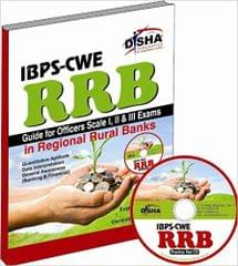 IBPS-CWE RRB Guide for Officer Scale 1, 2 & 3 Exam with Practice CD