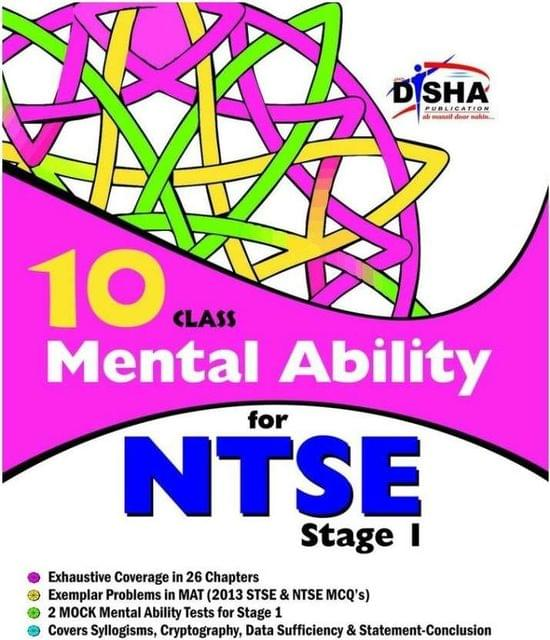 Class 10 - Mental Ability for NTSE Stage I