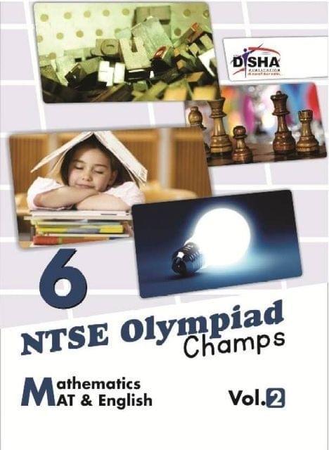 NTSE Olympiad Champs - Mathematics / Mental Ability / English Vol. 2 (Class 6) : BOOK
