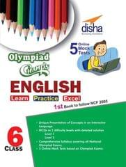 Olympiad Champs English Class 6 with 5 Mock Online Olympiad Tests