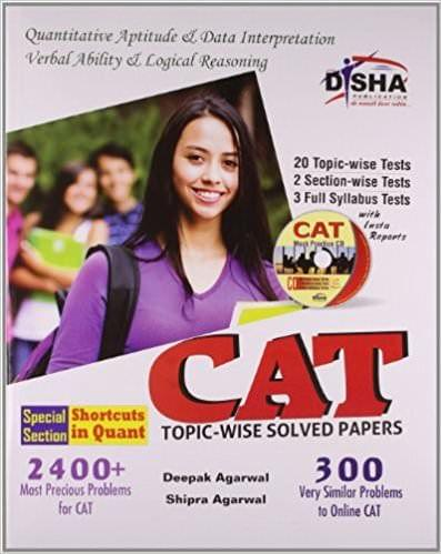 CAT Topic-wise Solved Papers with Test & Assessment CD (English) 8th Edition