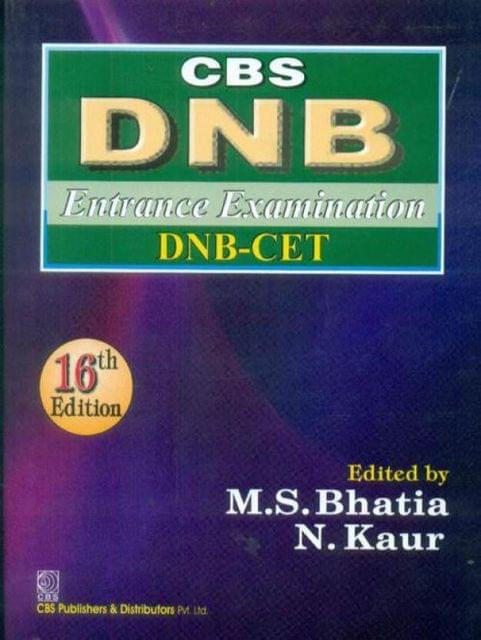 CBS DNB Entrance Examination DNB-CET