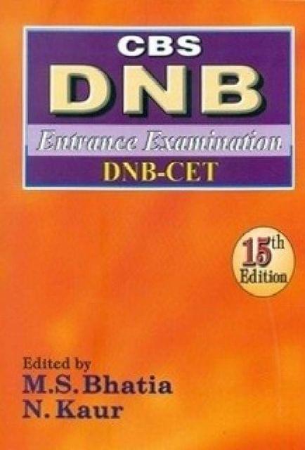 CBS DNB Entrance Examination CET 15th Edition