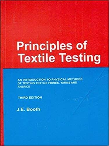 Principles of Textile Testing