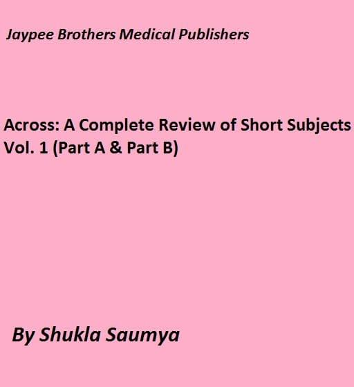 Across: A Complete Review of Short Subjects  Vol. 1 (Part A & Part B)
