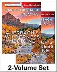 Auerbach's Wilderness Medicine (2 - Volume Set)