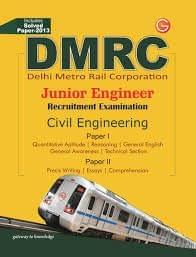 DMRC - Junior Engineer Recruitment Examination (Civil Engineering) : Includes Solved Paper - 2013 (English) 9th Edition