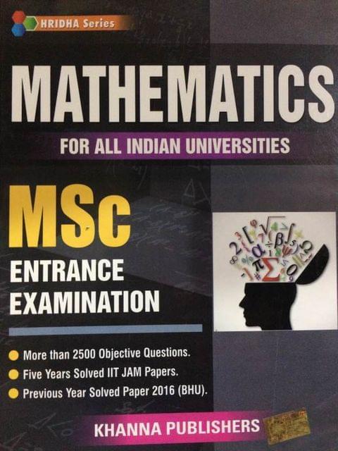 M Sc MATHEMATICS ENTRANCE EXAMINATION[FOR ALL INDIAN UNIVERSITIES