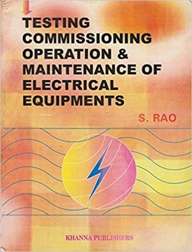 Operation and Maintenance of Electrical