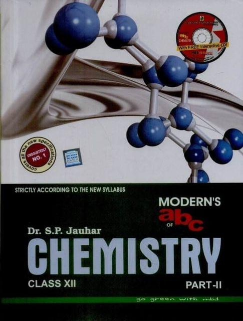 Modern's abc of Chemistry Class - 12 (Part 1 & 2) (With CD)