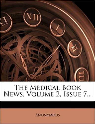 The Medical Book News, Volume 2, Issue 7. . .