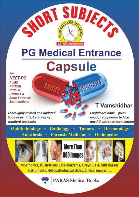 PG Medical Entrance Capsule: Short Subjects 1st/2016