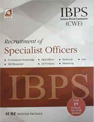 IBPS CWE Common Written Examination: Recruitment of Specialist Officers