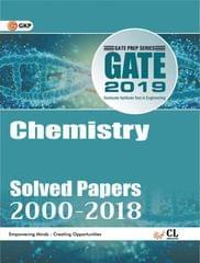 Gate chemistry chapter vise solved paper 2018