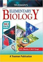 TRUEMAN'S ELEMENTARY BIOLOGY, VOLUME 1