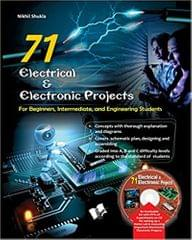 V & S PUBLISHERS 71 ELECTRICAL & ELECTRONIC PROJECTS (WITH CD)