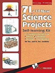 V & S PUBLISHERS 71+10 NEW SCIENCE PROJECTS (WITH CD)