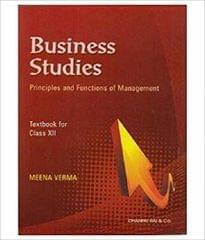 Business Studies Class - 12
