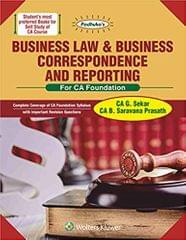 Padhuka s Business Law & Business Correspondence and Reporting For CA Foundation