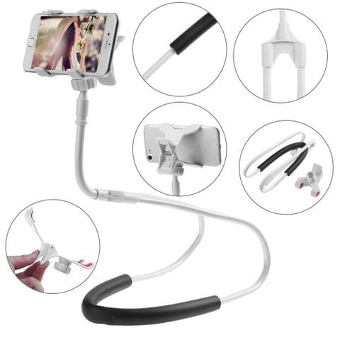 Natation Cell Phone Holder -Flexible Adjustable DIY Hands-free 360 Rotable Mount for 3.5-6.3 inch Mobile