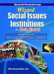 Wizard Social Issues & Institutions for Main Exams