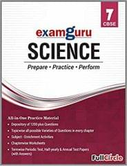 Examguru All In One CBSE Chapterwise Question Bank for Class 7 Science (Mar 2019 Exam)