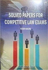 Solved Papers for Competitive Law Exams