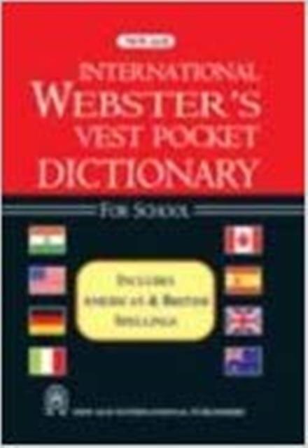 International Webster`s Vest Pocket Dictionary for School