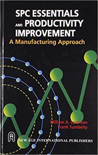 SPC Essentials and Productivity Improvements: A Manufacturing Approach