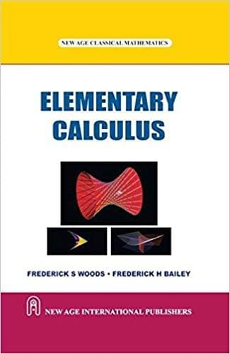 Elementry Calculus