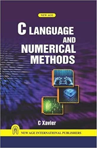 C Language and Numerical Methods