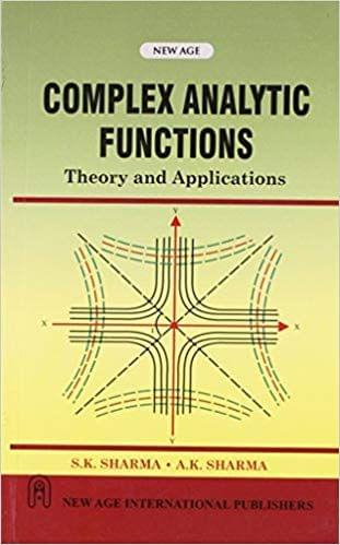 Complex Analytic Functions:Theory and Applications