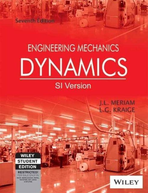 Engg. Mechanics - Dynamics