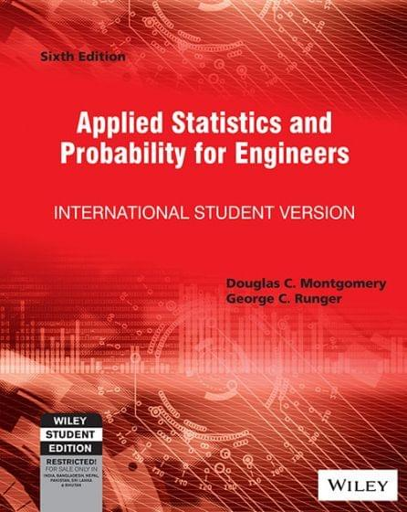 Applied Statistics & Probability For Engineers Ed.6
