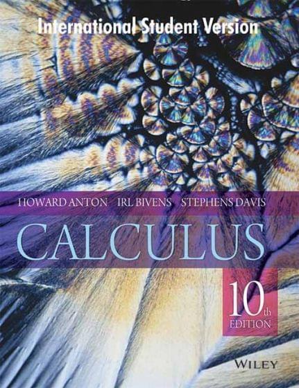 Calculus, 10ed, ISV