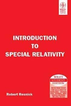 Intro. To Special Relativity