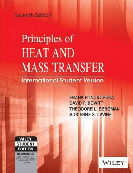 Principles Of Heat & Mass Transfer Ed.7