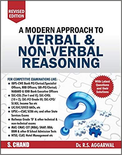 A Modern Approach To Verbal & Non-Verbal Reasoning - Revised Ed.